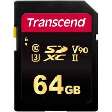 Карта памяти Transcend SDXC 700S  64ГБ