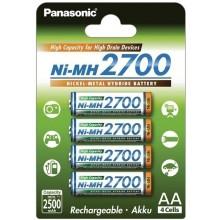 Panasonic High Capacity  4xAA 2700 mAh