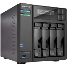 NAS сервер ASUSTOR AS6404T ОЗУ 8ГБ
