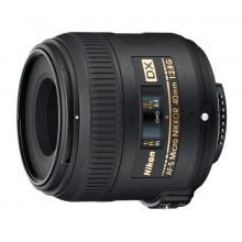 Объектив Nikon 40mm f/2.8G AF-S Micro-Nikkor