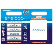 Panasonic Eneloop  4xAA 1900 mAh + case