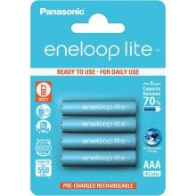 Panasonic Eneloop Lite  4xAAA 550 mAh
