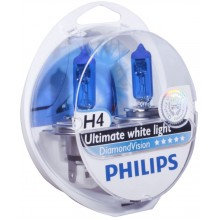 Автолампа Philips DiamondVision H4 2pcs