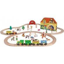 Железная дорога Janod Story Express J08525