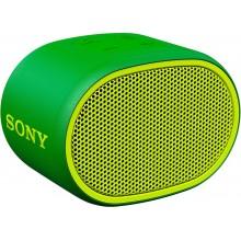 Портативная акустика Sony SRSXB01G.RU2