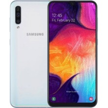 Мобильный телефон Samsung A7050 A70 2019 6/128 Dual White