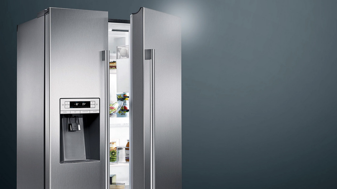 стоимость холодильника Zanussi Side By Side